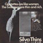 pubblicità sessiste Silva Thins