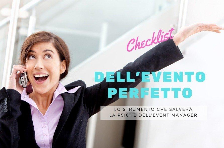 checklist eventi