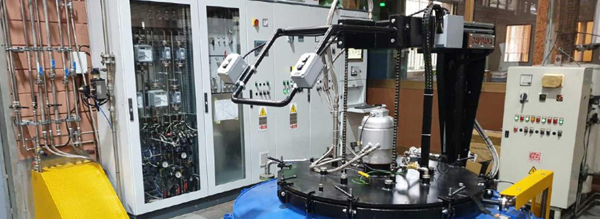 campana forni macchinario industriale