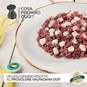 Risotto con Provolone Valpadana DOP dolce
