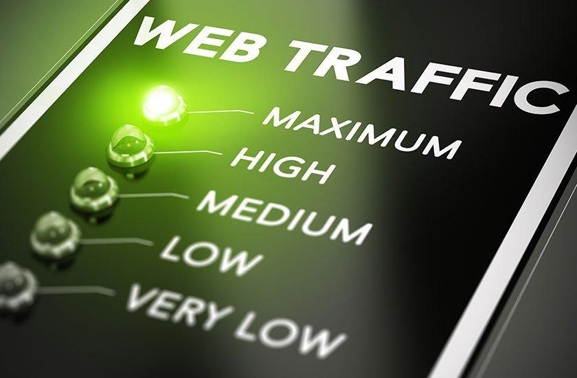 Aumentare traffico sito web