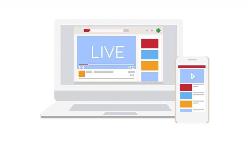 piattaforma dedicata per live streaming
