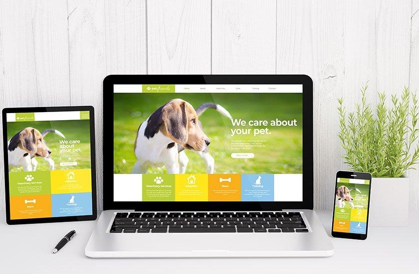 sito web responsive su vari device