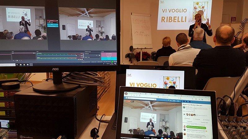 streaming palco virtuale