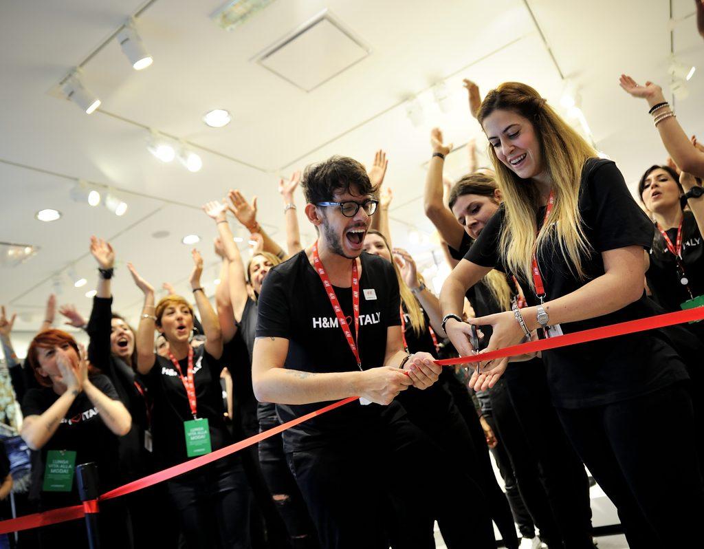 H&M Opening Novara 1